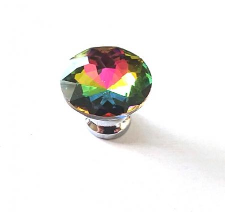 Gałka kryształowa szkło B014